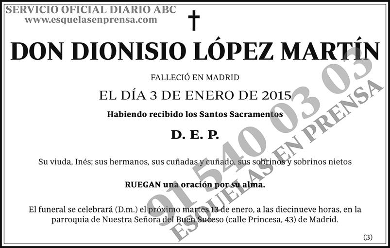 Dionisio López Martín